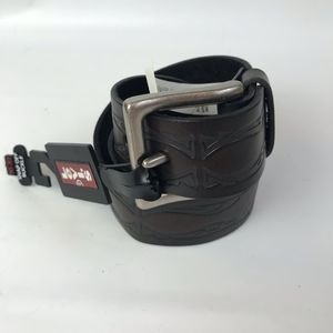 Levi's Tooled Leather Belt NWT